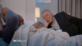 SoClean TV Spot, 'Bunking With Bill' Featuring William Shatner - Thumbnail 2