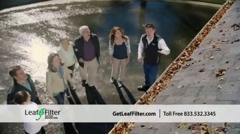 LeafFilter TV Spot, 'End Gutter Cleaning Forever'