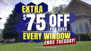 Wallside Windows TV Spot, 'Buy One Get One Free: $75 Off'
