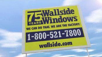 Wallside Windows TV Spot, 'Buy One Get One Free: $75 Off' - Thumbnail 8