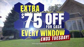 Wallside Windows TV Spot, 'Buy One Get One Free: $75 Off' - Thumbnail 3