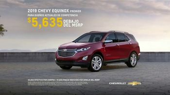 2019 Chevrolet Equinox TV Spot, 'Parejas' [Spanish] [T2] - Thumbnail 8