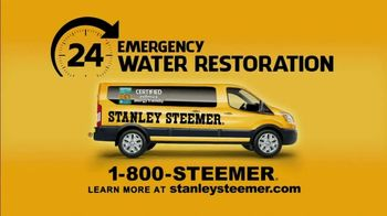 Stanley Steemer 24 Hour Emergency Water Restoration TV Spot, 'Did You Know' - Thumbnail 6