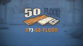 50 Floor 60 Percent Off Sale TV Spot, 'Tired Floors: Save' Featuring Richard Karn - Thumbnail 8