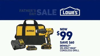 Lowe's Father's Day Sale TV Spot, 'Dad Knows Best' - Thumbnail 10