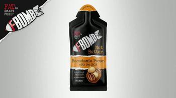 Fat is Smart Fuel FBOMB Macadamia Nut Butter TV Spot, 'Low-Carb Fuel'
