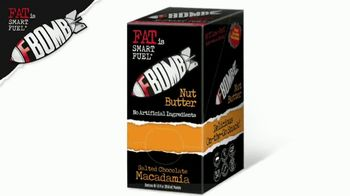 Fat is Smart Fuel FBOMB Macadamia Nut Butter TV Spot, 'Low-Carb Fuel' - Thumbnail 6