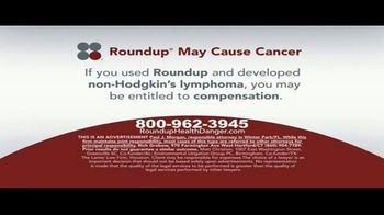 Sokolove Law TV Spot, 'Roundup May Cause Cancer' - Thumbnail 3