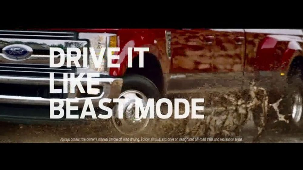 Ford F-Series TV Commercial, 'Drive It Home: Beast Mode' Song by Queen [T1]  - Video