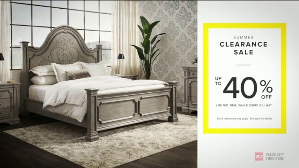 Value City Furniture Summer Clearance Sale Tv Commercial