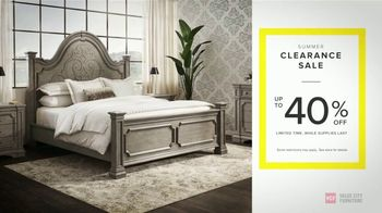 Value City Furniture Summer Clearance Sale TV Spot, \'Unbelievable Savings\'