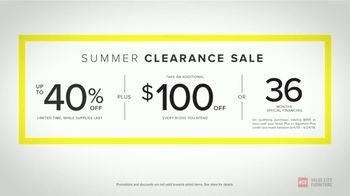 Value City Furniture Summer Clearance Sale TV Spot, 'Unbelievable Savings' - Thumbnail 9