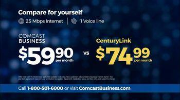 Comcast Business TV Spot, 'Competitor Comparison: CenturyLink' - Thumbnail 7