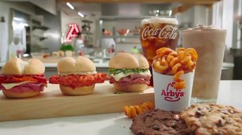 Arby's TV Spot, '$1 Each From 2-5: Happy' Song by YOGI - Thumbnail 3