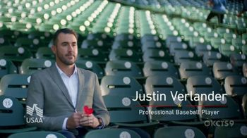 USAA TV Spot, 'Memorial Day: Poppy Wall of Honor' Featuring Justin Verlander - 3 commercial airings