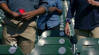 USAA TV Spot, 'Memorial Day: Poppy Wall of Honor' Featuring Justin Verlander - Thumbnail 5