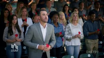USAA TV Spot, 'Memorial Day: Poppy Wall of Honor' Featuring Justin Verlander - Thumbnail 6