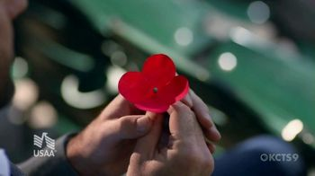 USAA TV Spot, 'Memorial Day: Poppy Wall of Honor' Featuring Justin Verlander - Thumbnail 7