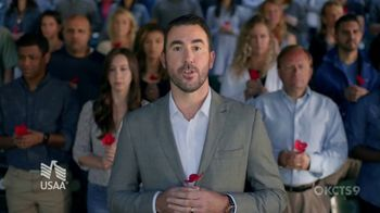 USAA TV Spot, 'Memorial Day: Poppy Wall of Honor' Featuring Justin Verlander - Thumbnail 8