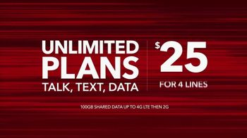 Total Wireless Unlimited Plans TV Spot, 'Trusted Data' - Thumbnail 4