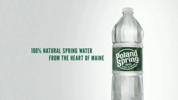Poland Spring Natural Spring Water TV Spot, 'Product of Nature' - Thumbnail 5