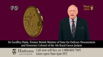 Hattons of London TV Spot, 'Gold Coin Announcement'