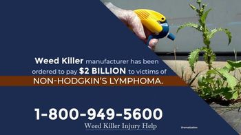 Moore Law Group TV Spot, 'Weed Killer Manufacturer' - Thumbnail 2