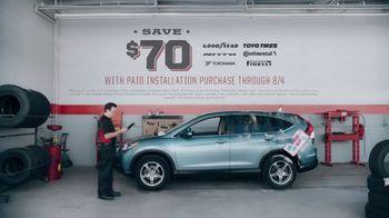 Big O Tires TV Spot, 'Downhill: Save $70'