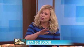 50 Floor TV Spot, 'CBS 11: Free Installation' - Thumbnail 5