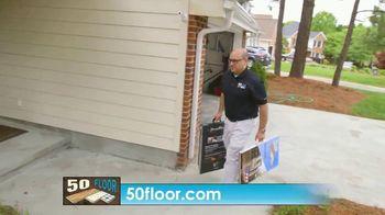 50 Floor TV Spot, 'CBS 11: Free Installation' - Thumbnail 6