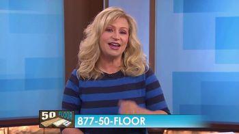 50 Floor TV Spot, 'CBS 11: Free Installation' - Thumbnail 7