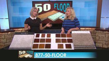 50 Floor TV Spot, 'CBS 11: Free Installation' - Thumbnail 8