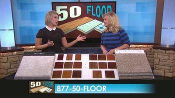 50 Floor TV Spot, 'CBS 11: Free Installation' - Thumbnail 9