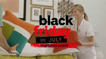 Ashley HomeStore Black Friday in July Mattress Event TV Spot, 'Boxspring' Song by Midnight Riot - Thumbnail 2