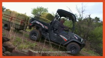 Kubota Sidekick TV Spot, 'Roam at 40 Miles Per Hour: Instant Rebate' - Thumbnail 3