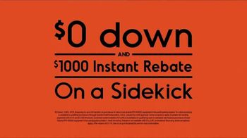 Kubota Sidekick TV Spot, 'Roam at 40 Miles Per Hour: Instant Rebate' - Thumbnail 7