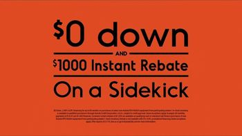 Kubota Sidekick TV Spot, 'Roam at 40 Miles Per Hour: Instant Rebate' - Thumbnail 8