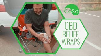 CoSo CBD Relief Wraps TV Spot, 'Targeted Relief' - Thumbnail 1