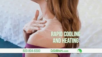 CoSo CBD Relief Wraps TV Spot, 'Targeted Relief' - Thumbnail 4
