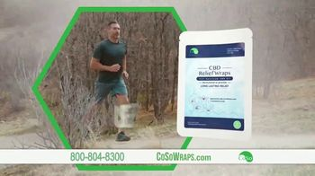 CoSo CBD Relief Wraps TV Spot, 'Targeted Relief' - Thumbnail 6