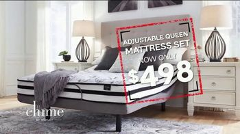 Ashley HomeStore Black Friday in July Mattress Sale TV Spot, 'Last Chance: Adjustable Queen' - Thumbnail 4