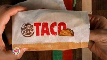 Burger King $1 Taco TV Spot, 'Taco-Bout a Surprise: Nuggets' Song by Lipps, Inc. - Thumbnail 1