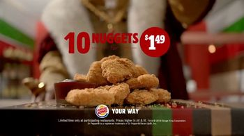 Burger King $1 Taco TV Spot, 'Taco-Bout a Surprise: Nuggets' Song by Lipps, Inc. - Thumbnail 9