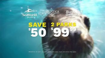 SeaWorld End of Summer Sale TV Spot, 'Real Feels Amazing: Single-Day Tickets' - Thumbnail 8