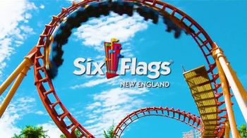 Six Flags New England TV Spot, 'Superman and Cyborg Hyperdrive'