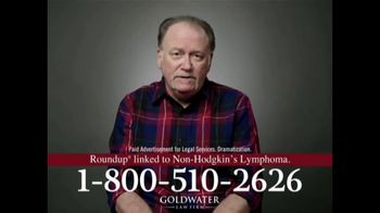 Goldwater Law Firm TV Spot, 'Non-Hodgkin's'
