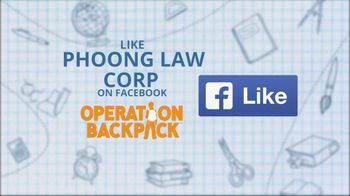 Volunteers of America TV Spot, 'Operation Backpack: Phoong Law Corp'