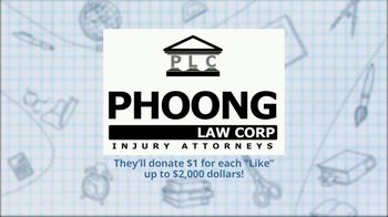 Volunteers of America TV Spot, 'Operation Backpack: Phoong Law Corp' - Thumbnail 3