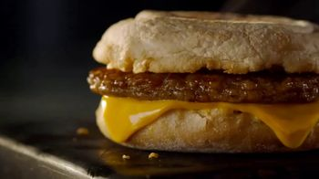 McDonald's Breakfast TV Spot, 'Morning Victory: Sausage McMuffin with Coffee or Soft Drink' - Thumbnail 7