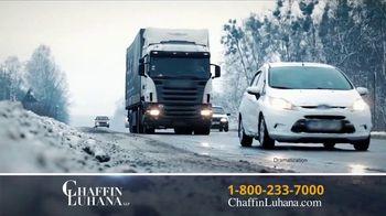 Chaffin Luhana TV Spot, 'Rear-Ended By 18 Wheeler' - Thumbnail 1